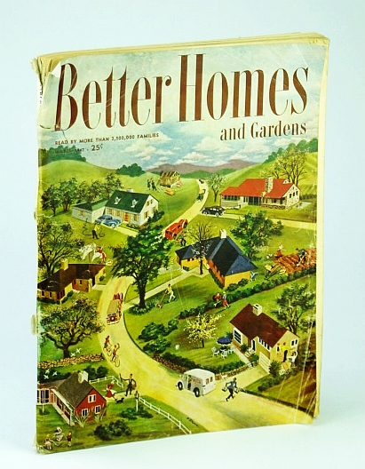 Image for Better Homes and Gardens Magazine, March (Mar.) 1947:- Rhode Island Home of Artist Antonio Cirino