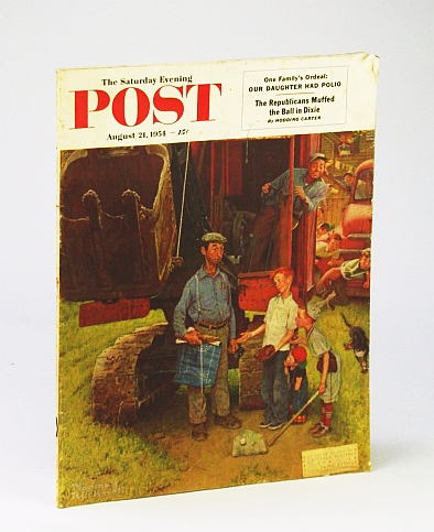 Image for The Saturday Evening Post, August (Aug.) 21, 1954: Our Daughter Had Polio / They Hit Red China Where it Hurt
