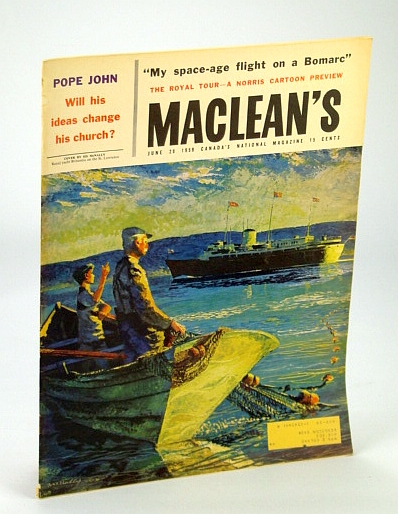 Image for Maclean's - Canada's National Magazine, 20 July, 1959: Strange Millionaire - Sir William Macdonald
