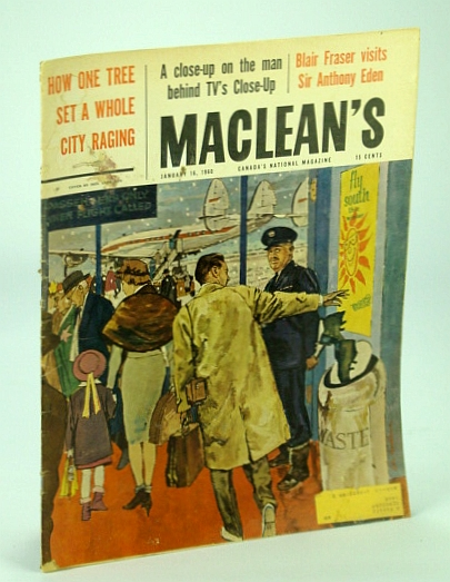 Image for Maclean's - Canada's National Magazine, 16 January (Jan.) 1960: Anthony Eden / Winnipeg's Wonderful Elm
