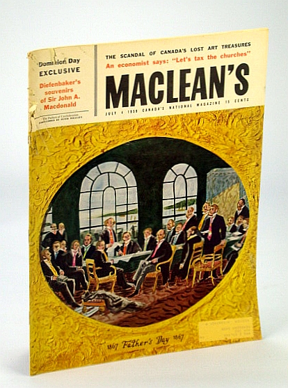 Image for Maclean's - Canada's National Magazine, 4 July 1959 - Scandal of Our Lost Art Treasures