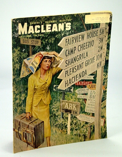 Image for Maclean's - Canada's National Magazine, 1 July, 1949 - Maggie Muggins / George A. Wright