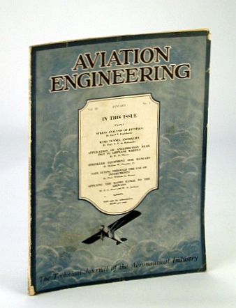 Image for Aviation Engineering (Magazine) - The Technical Journal of the Aeronautical Industry, January 1930 -  Wind Tunnel Anomalies / Safe Flying With Instruments