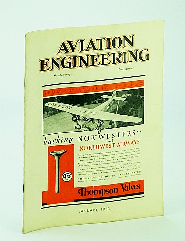 Image for Aviation Engineering (Magazine), January (Jan.) 1933 - Servicing the Autogiro / History of the Scintilla Magneto