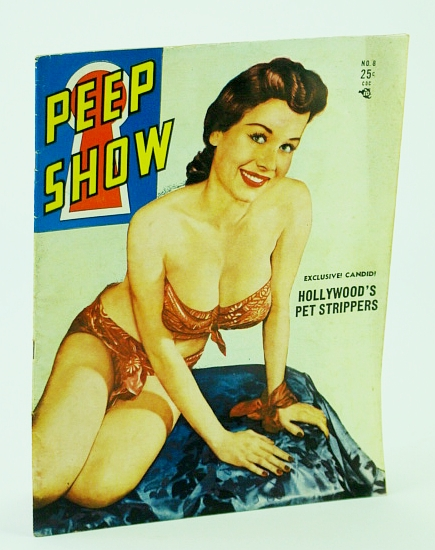 Image for Peep Show Magazine, May-June 1952, Vol. 1, No. 8 - Jean Williams Cover Photo