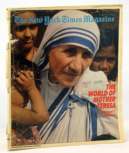 Image for The New York Times Magazine, December (Dec.) 9, 1979 -  Mother Teresa Cover Photo