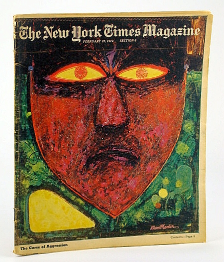 Image for The New York Times Magazine, February (Feb.) 27, 1972 -  Pacido Domingo / Jean Genet