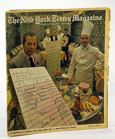 Image for The New York Times Magazine, February (Feb.) 20, 1972 - The Battle of Forest Hills