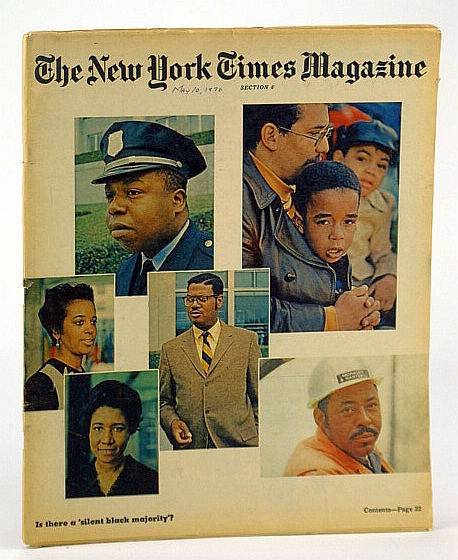 Image for The New York Times Magazine, May 10, 1970 -  The Hip Baroness Wootton of Abinger / The Silent Black Majority