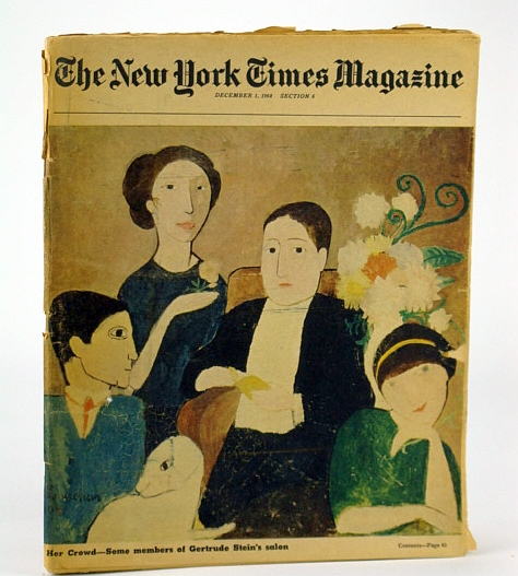 Image for The New York Times Magazine, December (Dec.) 1, 1968 - The Gertrude Stein Salon Was the First Museum of Modern Art