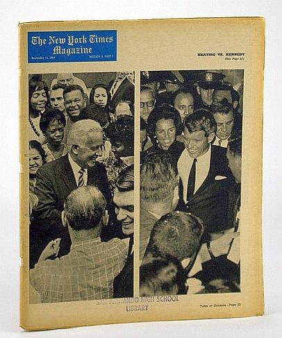 Image for The New York Times Magazine, September (Sept.) 13, 1964 -  Sihanouk is a Prince Under Pressure