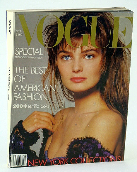 Image for Vogue (US) Magazine, September (Sept.), 1986 - The Best of American Fashion