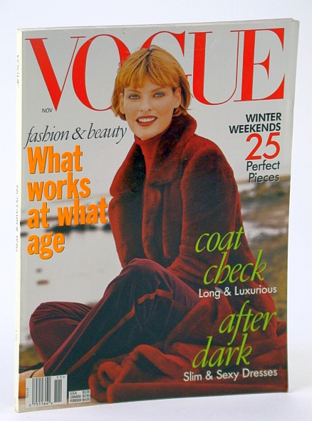 Image for Vogue (US) Magazine, November (Nov.) 1996 - What Works at What Age