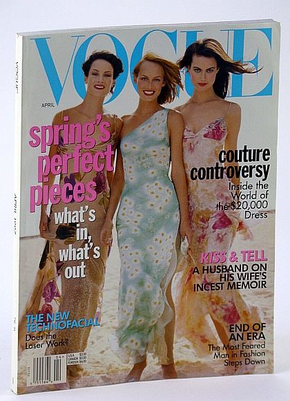 Image for Vogue (US) Magazine, April (Apr.) 1997 - Couture Controversy