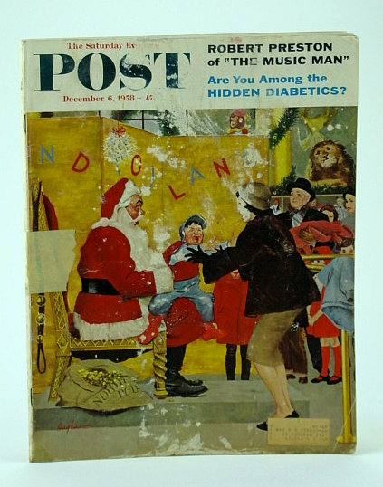 "Image for The Saturday Evening Post,, December (Dec.) 6, 1958 -  Robert Preston is ""The Music Man"" / Hidden Diabetics / Tokyo!"