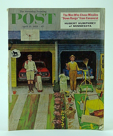 Image for The Saturday Evening Post,, April (Apr.) 25, 1959 -  I Lost My Wife, Linda Beech, to Tokyo TV