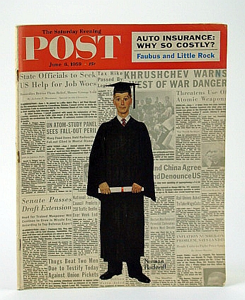 Image for The Saturday Evening Post,, June 6, 1959 -  The Untold Story of Little Rock