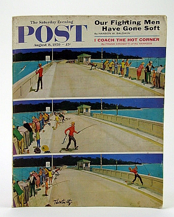 Image for The Saturday Evening Post, August (Aug.) 8, 1959 - The Struggle to Get (Jimmy) Hoffa
