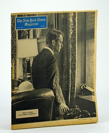 Image for The New York Times Magazine, May 24, 1964 -  RFK Cover Photo