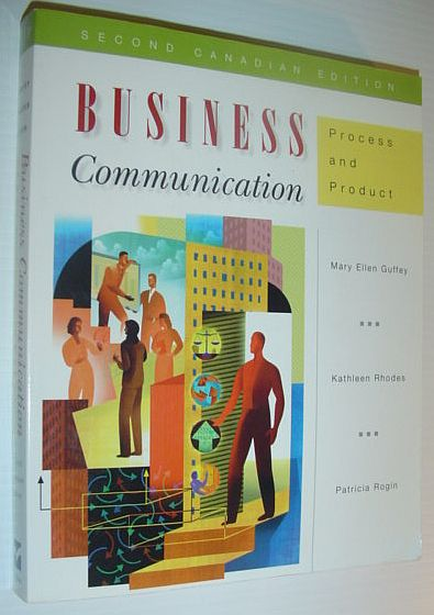 Image for Business communication: Process and product