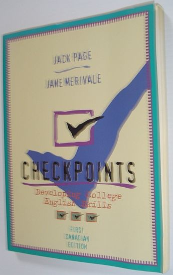Image for Checkpoints : Developing College English Skills