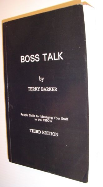 Image for Boss Talk --1990 publication.