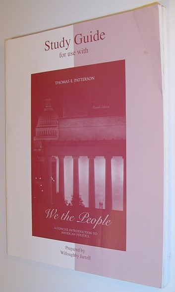 Image for We the People: A Concise Introduction To American Politics (Study Guide)