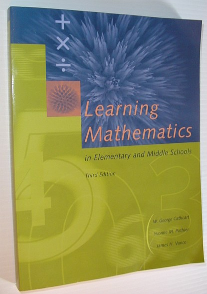 Image for Learning Mathematics in Elementary and Middle Schools