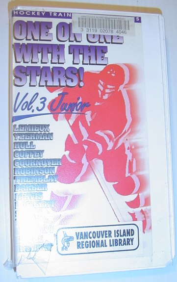 Image for One on One with the Stars - Volume 3: Junior - 60 Minute VHS Video Tape in Case