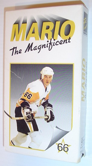 Image for Mario (Lemieux) The Magnificent - Rare VHS Video Tape in Original Illustrated Cardboard Case