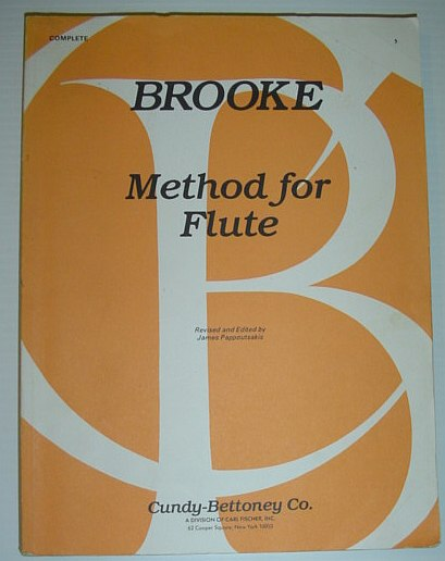 Image for CU20 - Method for Flute - Brooke