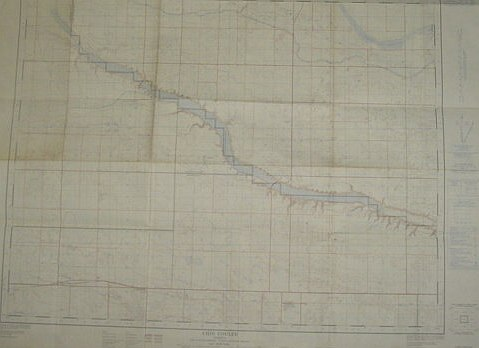 Image for Chin Coulee, Alberta, West of Fourth Meridian, Scale 1:50,000