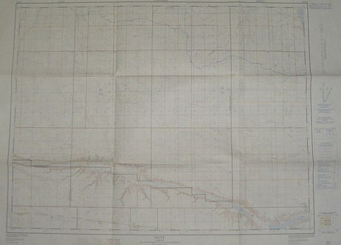 Image for Skiff, Alberta, West of Fourth Meridian, Scale 1:50,000