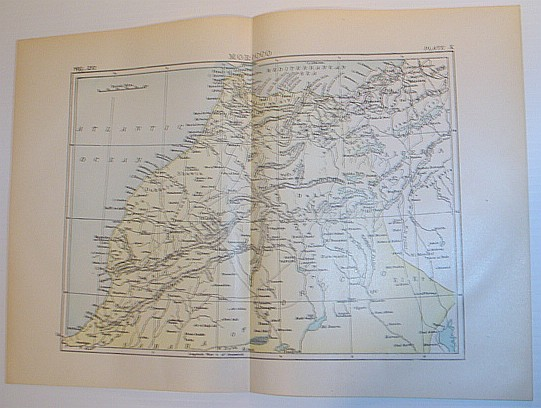 Image for Map of Morocco - Circa 1902
