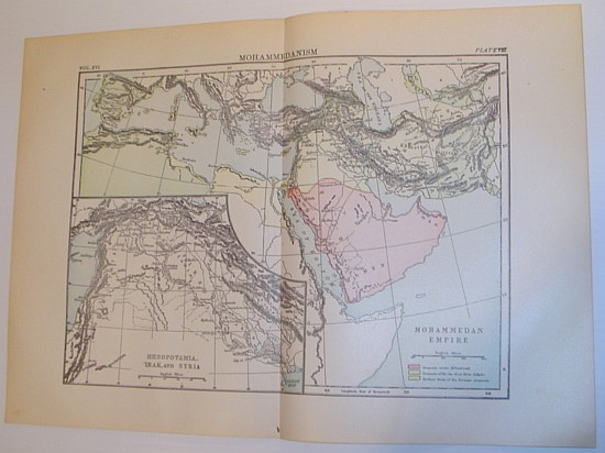 Image for Map of the Mohammedan Empire