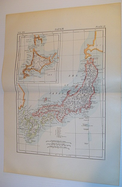 Image for Map of Japan: Circa 1902