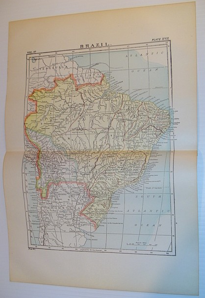 Image for Map of Brazil - Circa 1902