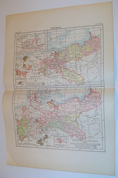 Image for Two Maps of the Kingdom of Prussia: 1786 and 1866