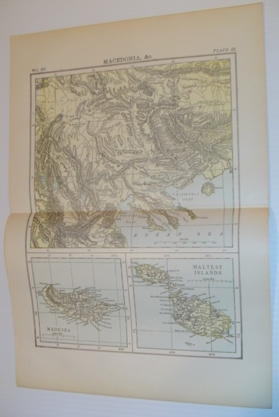 Image for Maps of Macedonia, Madeira and the Maltese Islands - Circa 1902