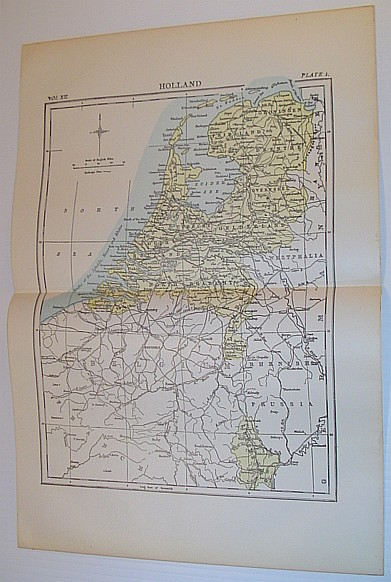 Image for Map of Holland - Circa 1902