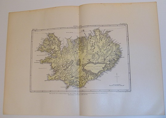 Image for Map of Iceland, Circa 1902