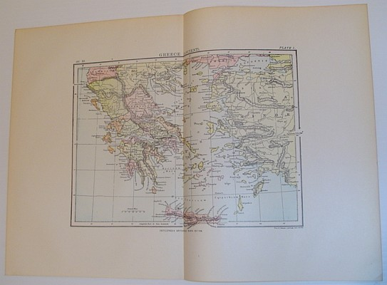 Image for Colour Map of Greece (Ancient)