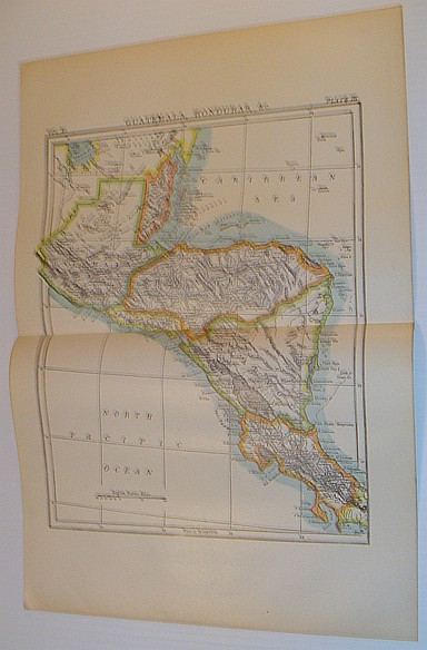 "Image for Colour Map of ""Guatemala, Honduras, &c"" - Circa 1902"