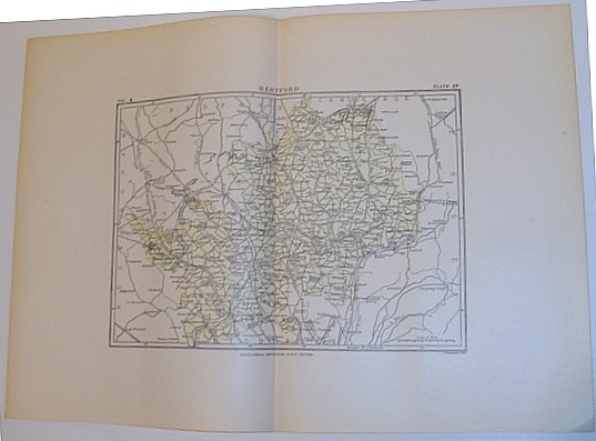 Image for Map of Hertford, England - Circa 1902