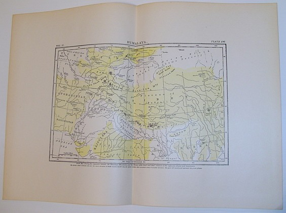 "Image for Map of ""Himalaya"" - Circa 1902"
