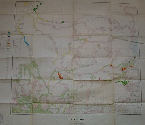 Image for Nottawy Sheet - Quebec: Map 190A
