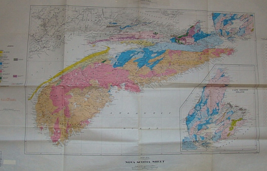 Image for Nova Scotia Sheet - Map 39A