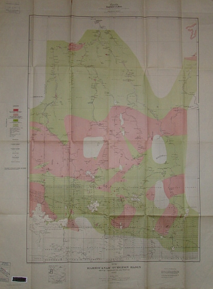 Image for Harricanaw-Turgeon Basin - Abitibi, Timiskaming, and Pontiac - Map 183A (publication No. 1630)