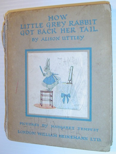 Image for How Little Grey Rabbit Got Back Her Tail