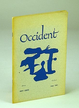 Image for Occident, Fall 1961